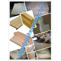 Wholesale sell  red oak stair culomn solid wood stair specification from china suppliers
