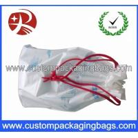 Wholesale Multi - Use White Small Drawstring Pouch Custom Print For Grocery from china suppliers