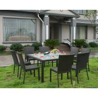 Wholesale 9pcs rattan sofa set from china suppliers