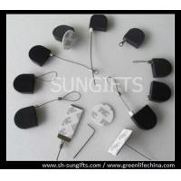 Wholesale Black semicircular anti-theft pull boxes with adhesive glue and custom metal accessories from china suppliers