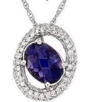 Wholesale Pendant Sapphire & Diamond from china suppliers