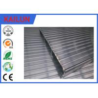 Wholesale Waterproof Aluminum Decking Flooring with 6000 series T4 / T5 / T6 Anodized Aluminium Profile from china suppliers