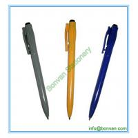 Wholesale side click hotel promo ballpen, logo printed simple pen from china suppliers