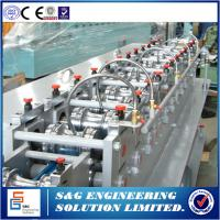 Quality 45# Steel Processing Shutter Door Roll Forming Machine Customised Thickness for sale