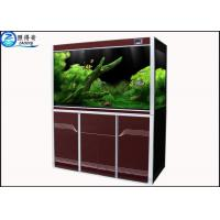 Wholesale Simple High-end Custom Aquarium Fish Tank , Automotive Float Glass Fish Aquarium Tanks from china suppliers