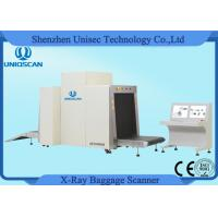 Wholesale Large Airport Baggage Scanner , Dual View X Ray Inspection Machine System from china suppliers