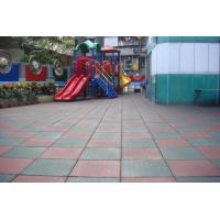 Buy cheap Rubber Mat/Rubber tile/playground tile/various designs Safety Floor from wholesalers
