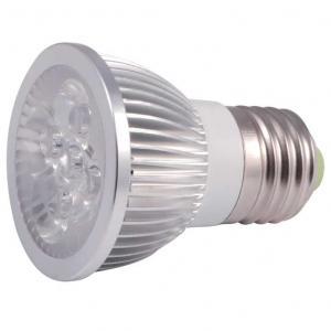 Buy cheap GU10 LED spotlight E27 height 55-60mm Aluminum housing 4W from wholesalers