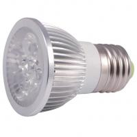 Buy cheap GU10 LED spotlight E27 height 55-60mm Aluminum housing 4W from wholesalers