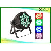 Wholesale Rgbw 18 x 10w Stage Led Par Light 4-In-One Full-Color Dmx Par Cans Indoor Par64 from china suppliers