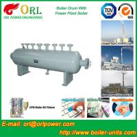 Wholesale 100 Ton biogas boiler mud drum ORL Power ASME certification manufacturer from china suppliers