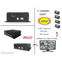 Wholesale RECODA M620 4 Channel 1080P full hd car dvr Support 3G , 4G , WIFI , GPS from china suppliers