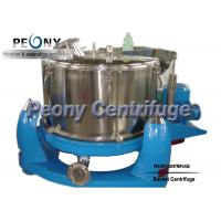 Wholesale Stainless Steel Adjustable Pharmaceutical Centrifuge PBL For Chemical , Extraction Machine from china suppliers