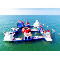 Wholesale Giant Floating Inflatable Aqua Park 0.9mm PVC Tarpaulin Inflatable Water Games from china suppliers