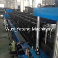 Wholesale Security GI Material Storage Rack Roll Forming Machine ISO Light Steel Frame Machine from china suppliers