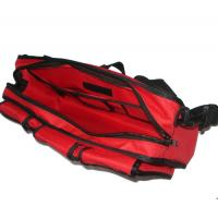 Wholesale Large Red First Aid Kit Pouch 600D Knitted Fabric With Hand Belt from china suppliers