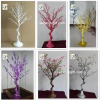 Wholesale UVG DTR25 colorful plastic dry tree branch decoration wedding centerpieces for tables from china suppliers