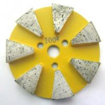 Wholesale 7 Seg Straight Edge Metal Polishing Pads from china suppliers