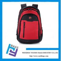 China 15.6 Red Laptop backpacks,1680D Laptop Backpacks with high quality on sale