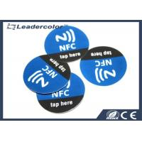Wholesale High Frequency RFID Token , Waterproof NFC Token Sticker 35mm CMYK Printing from china suppliers