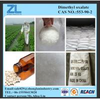 Wholesale plasticizer raw material Dimethyl oxalate,CAS NO.:553-90-2 from china suppliers