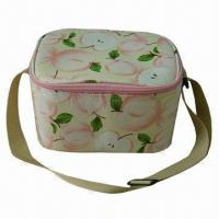 Wholesale Picnic Cooler Bag, Made of Microfiber with PEVA Lining and 3mm Foam Padded, One Zipper Compartment from china suppliers
