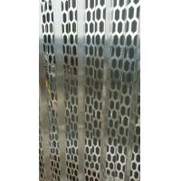Quality PVC coated hexagonal hole perforated metal sheet for sale