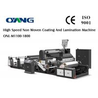 Wholesale Non Woven Fabric Plastic Film Lamination Machine / Industrial Laminating Machine from china suppliers