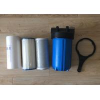 Wholesale 10 Inch Water Filter Housing  Polypropylene Big Blue Jumbo Blue with Air Release from china suppliers