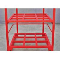 Quality Steel Powder Coating Pallet Stacking Rack Pallet Stacking Frames for sale