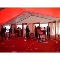 Quality Easy Assemble Heavy Duty Party Tent Red For Outdoor Wedding / Party Event for sale