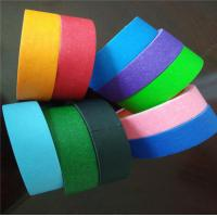 Quality Decoration Silicone Adhesive Craft Colored Masking Tape For DIY Industry for sale