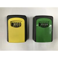 Wholesale Ultra Durable Aluminum Wall Mounted Key Safe Box / Emergency Key Box from china suppliers