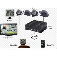 Wholesale 720P Resolution hybrid SD Card Mobile Vehicle DVR with 3G / 4G GPS WIFI from china suppliers