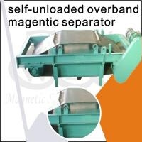 Wholesale Over Belt Self Cleaning Overband Magnetic Separator / Cross Belt Magnetic Separator from china suppliers