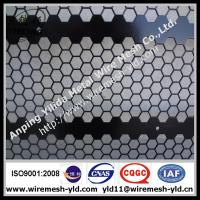 Wholesale hexagonal hole perforated metal sheet,metal wire mesh from china suppliers