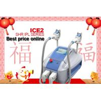 Wholesale 2 Handpieces SHR IPL Machine Permanent Hair Removal , Portable  SHR IPL Permanent Laser Hair Remover from china suppliers
