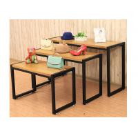 Wholesale Fashion Style Merchandise Display Tables , Lightweight 3 Tier Retail Display Table from china suppliers