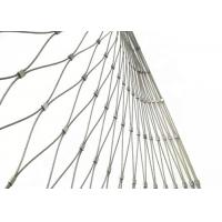 Buy cheap Stainless Steel Wire Rope Mesh Fence for Zoo Enclosure and Animal Cages from wholesalers