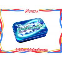 Wholesale Powerful Fresh Breath Peppermint Hard Candy In Colorful Tin Box from china suppliers
