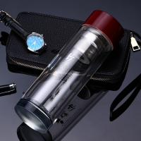 Wholesale Portable Drinking Water Bottle Glass , Insulated Water Bottle For Hot And Cold from china suppliers