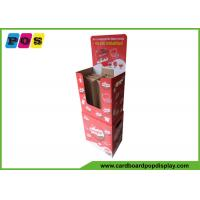 BE Corrugated Flute Cardboard Display Bins For Point Of Purchase Sale DB043