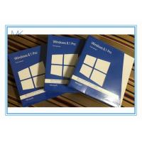 Wholesale Windows 8.1 Os Software  Pro Pack DVD *2 With Key Card 32 / 64bits from china suppliers