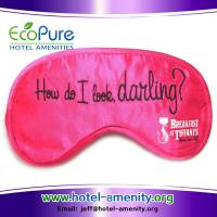 Wholesale Eye mask, sleep eye mask, travel eye mask, promotion eye mask, silk eye mask from china suppliers