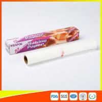 Wholesale Silicone Coated Parchment Baking Paper Sheets Greaseproof With Plastic Cutter from china suppliers
