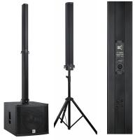 Wholesale Active Line Array Speakers 18inch Sub Woofer , Column Bluetooth Speaker Music Instrument from china suppliers