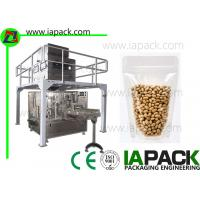 Wholesale Bean Premade Pouch Packing Machine 380 V 3 Phase 50HZ / 60HZ 6.5 KW from china suppliers
