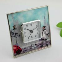 Wholesale Shinny Gifts Fashion Simple Design On/Off On top Desk Clock Home Decorative from china suppliers