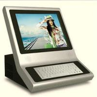 Wholesale Compact Self Service Kiosk Countertop With Keyboard , portable from china suppliers