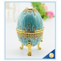 Wholesale easter egg wedding gift /wedding gift / Easter egg/ blue colour with diamond from china suppliers
